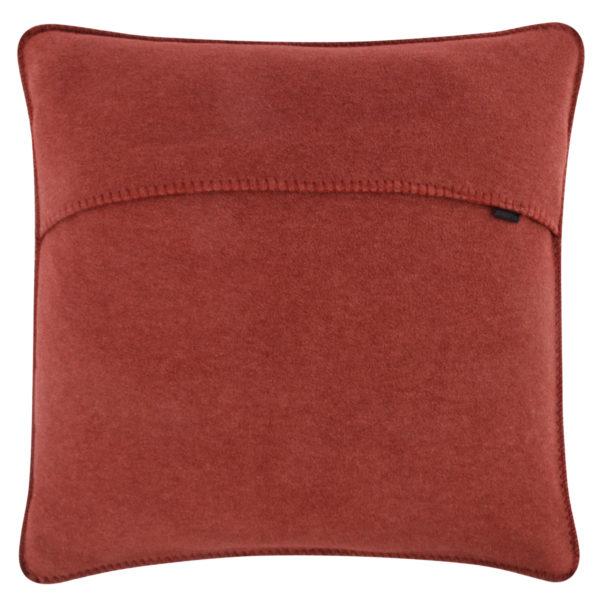 Kissenbezug 50x50cm in kupferfarben, flauschig aus Fleece, zoeppritz Soft-Fleece