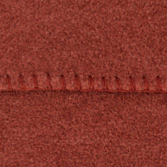 Cushion cover 50x50cm in copper color, zoeppritz Soft-Fleece
