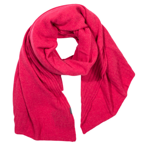 Cashmere scarf for women and men, cherry red in 110x150cm, zoeppritz Hot