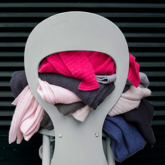 Cashmere scarf for women and men, pale pink in 110x150cm, zoeppritz Hot