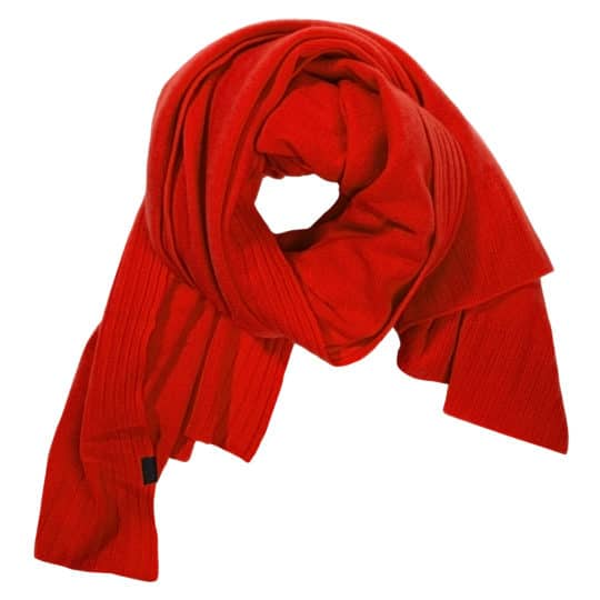 Cashmere scarf for women and men, orange in 110x150cm, zoeppritz Hot