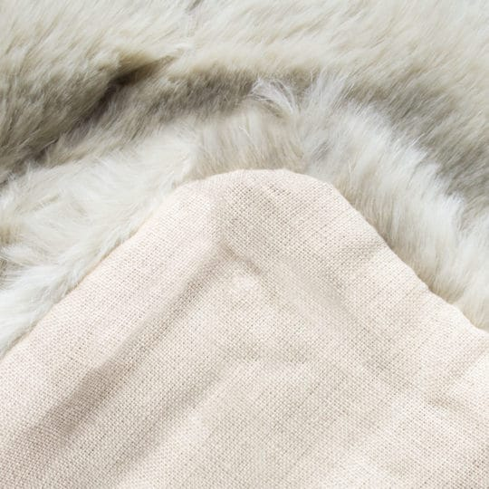 Cushion cover from fake fur, beige in 30x40cm, zoeppritz Serenity