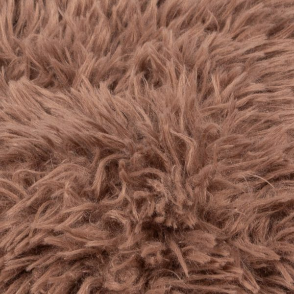 Faux fur blanket, smoke from polyster, 140x190cm, zoeppritz Reborn