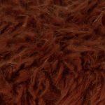 Faux fur blanket, rust from polyster, 140x190cm, zoeppritz Reborn