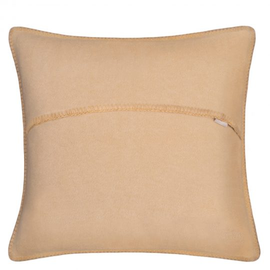 zoeppritz weicher soft fleece kissenbezug 40x40 sand beige