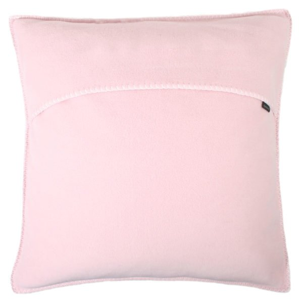 zoeppritz weicher soft fleece kissenbezug 50x50 dark rose rosa