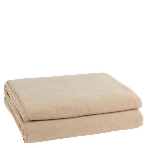 zoeppritz weiche soft fleece decke 220x240 sand beige