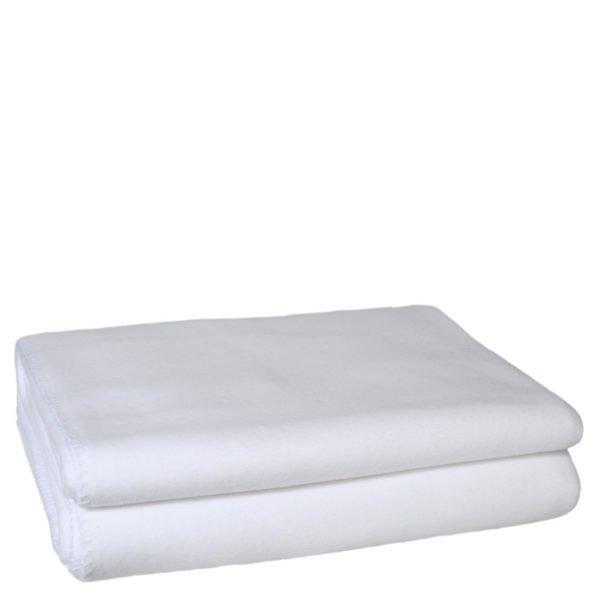 zoeppritz weiche soft fleece decke 220x240 weiss