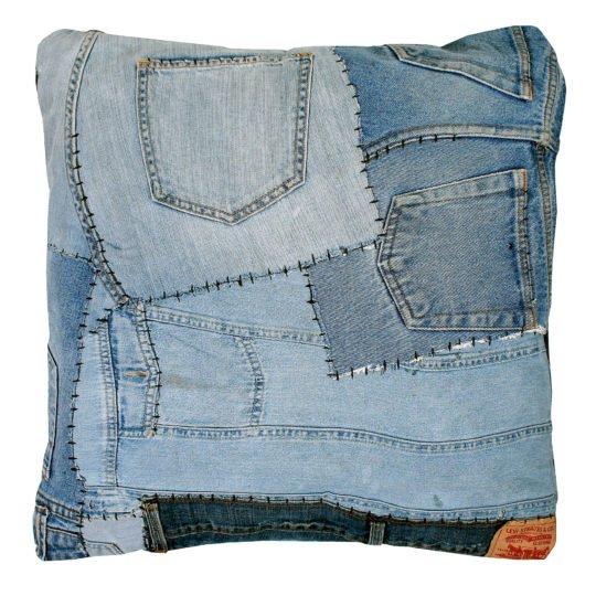 zoeppritz pants kissenbezug 50x50 indigo blau