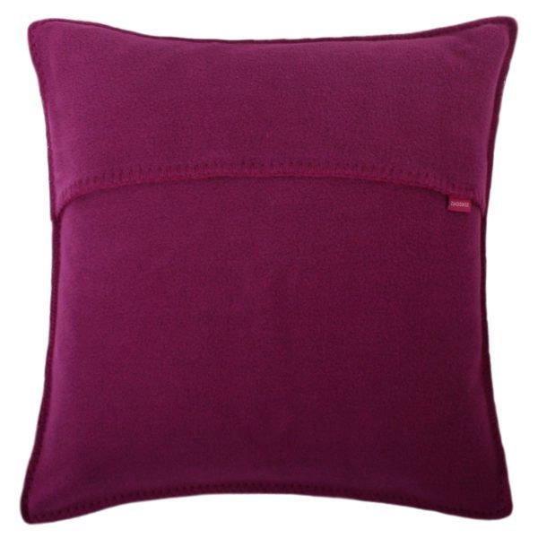 zoeppritz weicher soft fleece kissenbezug 40x40 fuchsia pink