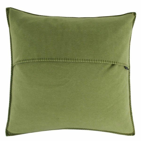 zoeppritz weicher soft fleece kissenbezug 40x40 gruen