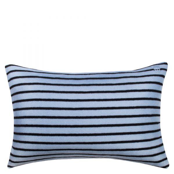 soft ice zoeppritz viscose kissenbezug 40x60 wasser blau