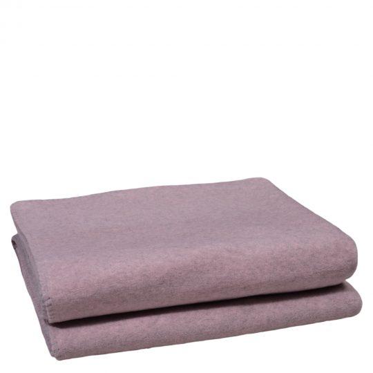 soft wool zoeppritz viscose schurwoll decke 210x240 rosa
