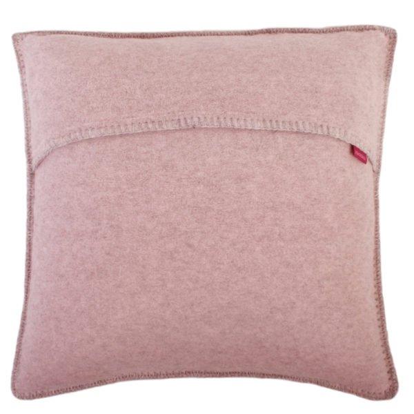 soft wool zoeppritz viscose schurwoll kissenbezug 50x50 rosa