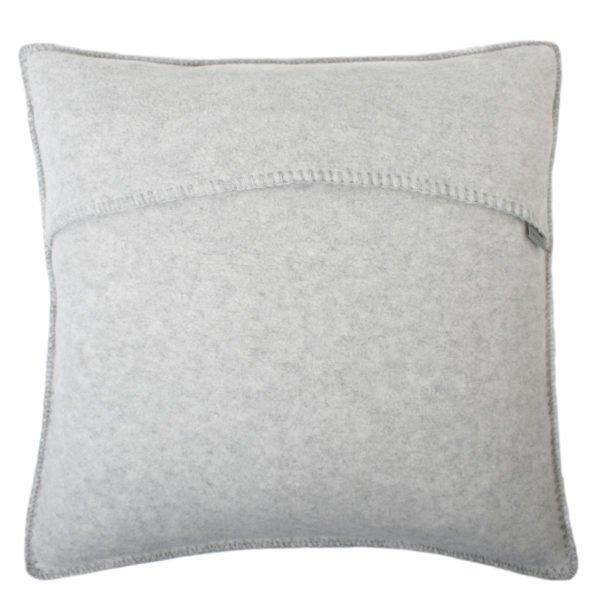 soft wool zoeppritz viscose schurwoll kissenbezug 50x50 wolken grau