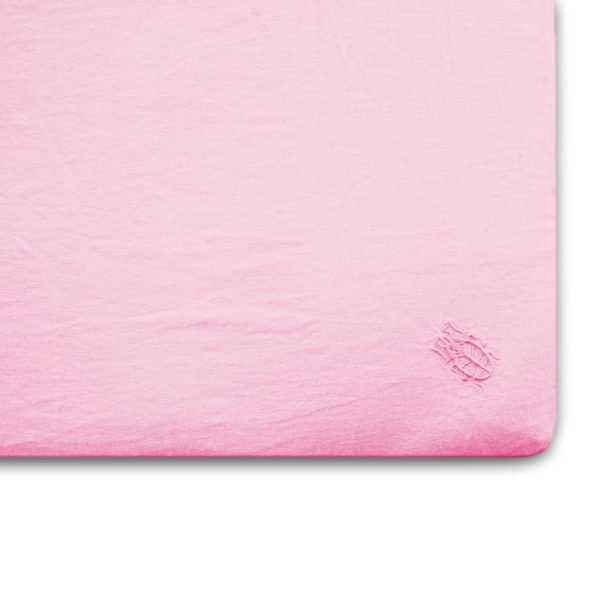 stay zoeppritz leinen spannbettlaken rosa