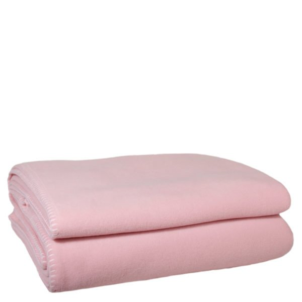 zoeppritz weiche soft fleece decke 220x240 dark rose rosa