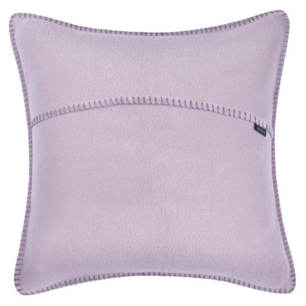 zoeppritz weicher soft fleece kissenbezug 50x50 blasses lavendel lila