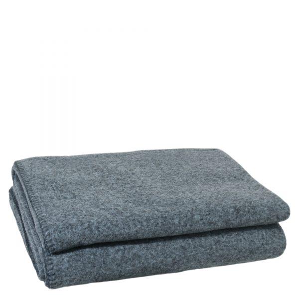 soft wool zoeppritz viscose schurwoll decke 160x200 dunkles pazifik tuerkis