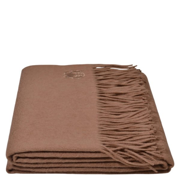 imagine zoeppritz cashmere plaid 130x180 kamel braun