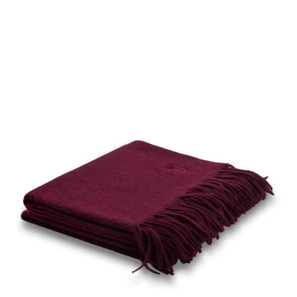 imagine zoeppritz cashmere plaid 130x180 baccara rot
