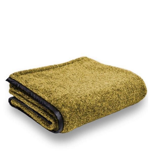 crush zoeppritz  decke 150x200 senf gelb