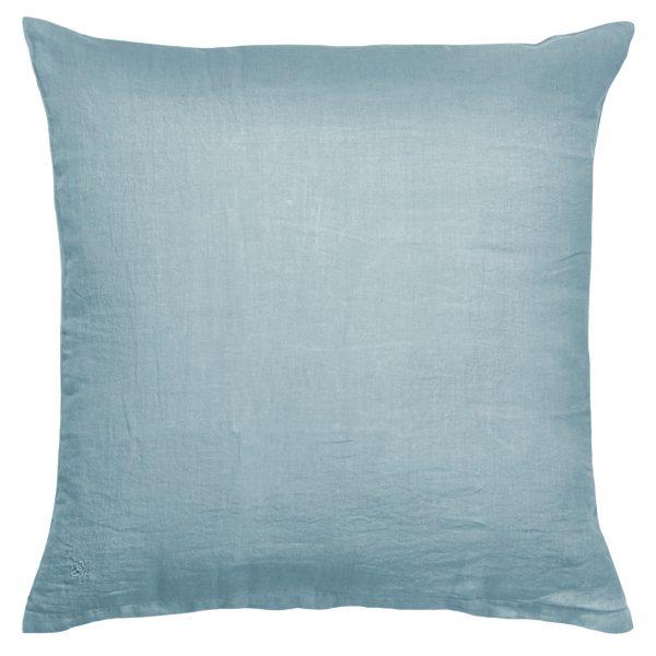 stay zoeppritz leinen kissenbezug wasser blau
