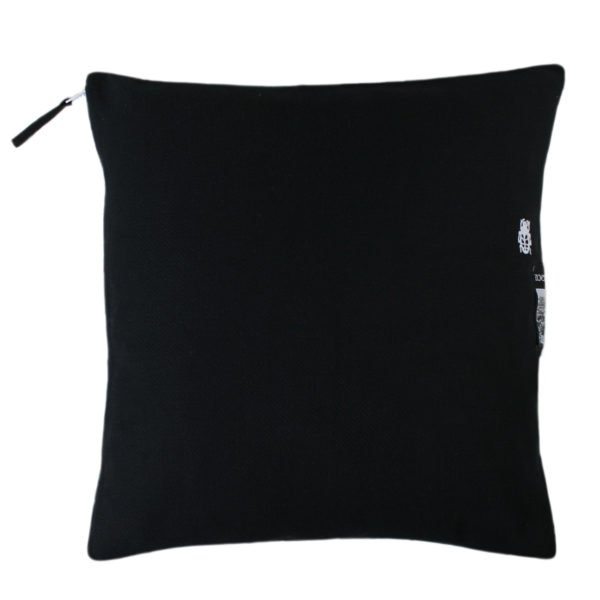sunny zoeppritz baumwoll kissenbezug schwarz