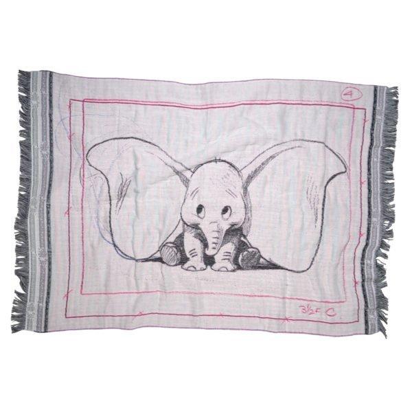 disney mickey dumbo ears zoeppritz baumwolle decke 75x110 pink rosa disney decke