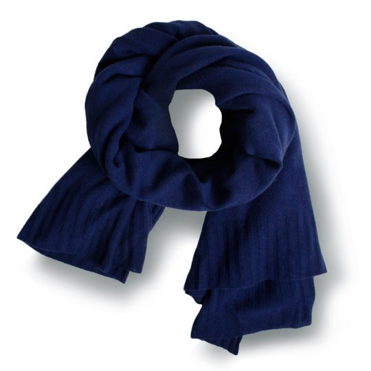 hot zoeppritz cashmere schal 110x150 royal blau