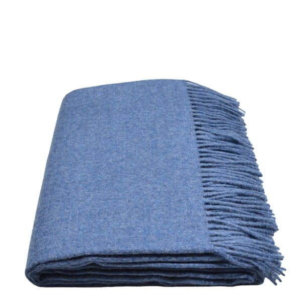 attitude zoeppritz alpaka decke 130x200 denim jeans blau