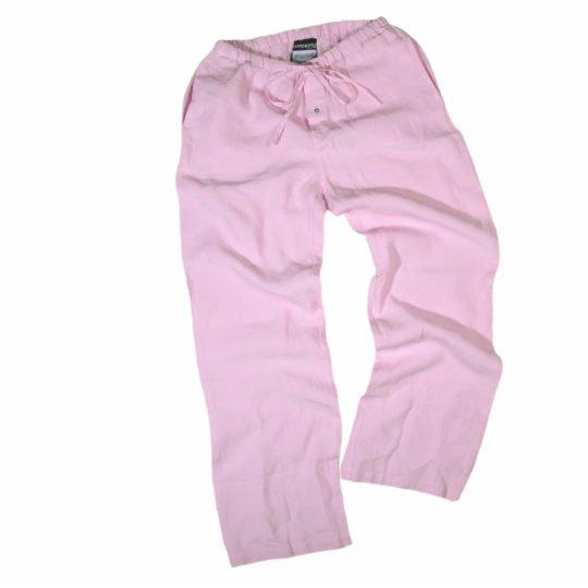 stay zoeppritz leinen hose rosa