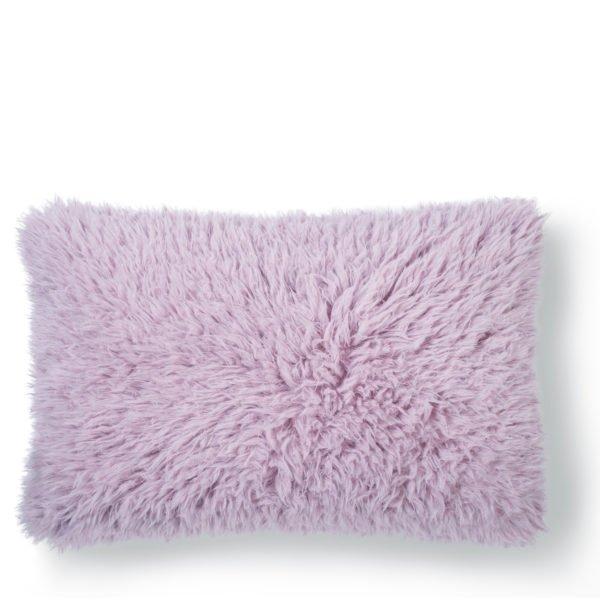 zoeppritz kunstfell reborn kissenbezug 40x60 rosa
