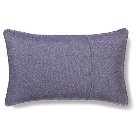 must stitch zoeppritz schurwolle kissenbezug 30x50 wein rot