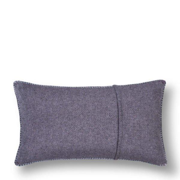 must stitch zoeppritz schurwolle kissenbezug 30x50 pudriges blau