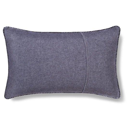 must stitch zoeppritz schurwolle kissenbezug 30x50 schwarz