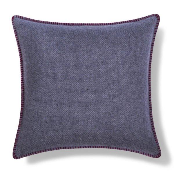 must stitch too zoeppritz schurwolle kissenbezug 40x40 wein rot