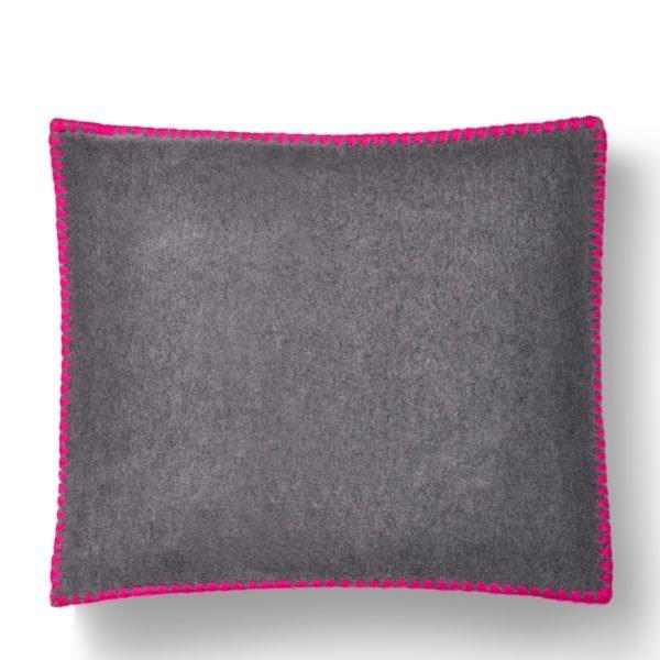 Soft Fleece Baby kuscheliger Kissenbezug zart rosa