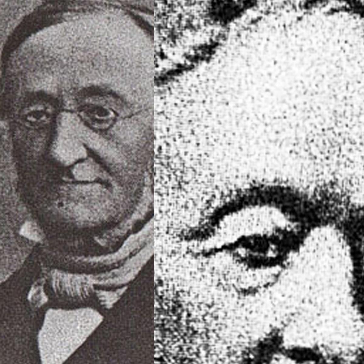 Portraits von Georg und Jacob Zoeppritz. Die Gründerväter von zoeppritz since 1828