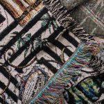 zoeppritz Absurd Centuries Decke, Farbmix, Material Baumwolle in Groesse 140x180