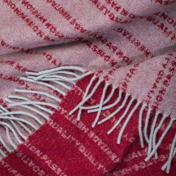 zoeppritz Believe in Decke, Farbe hellblau, Material Schurwolle in Groesse 140x190