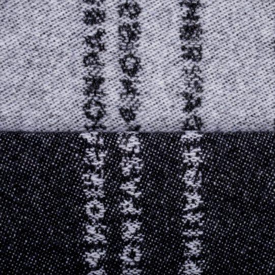 zoeppritz Believe in Kissenbezug, Farbe schwarz, Material Schurwolle in Groesse 40x60