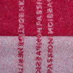zoeppritz Believe in Kissenbezug, Farbe hellblau, Material Schurwolle in Groesse 40x60