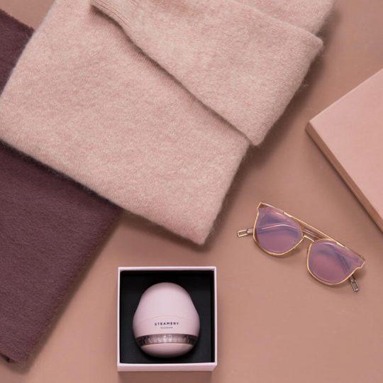 Steamery Stockholm Pilo Fabric Shaver Fusselrasierer, rosa