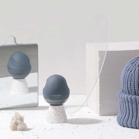 Steamery Stockholm Pilo Fabric Shaver Fusselrasierer, blau
