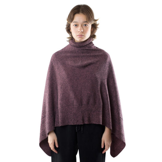 turtleneck cape