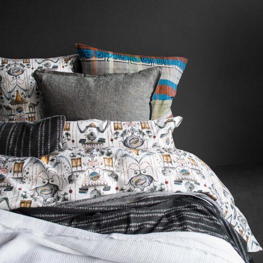 zoeppritz Centuries Kissenbezug, Farbmix, Material Baumwolle in Groesse 70x90