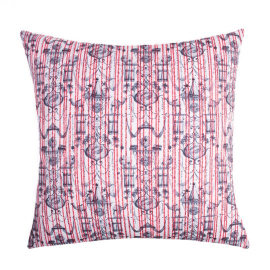 zoeppritz Believe in centuries Kissenbezug, Farbe rot, Material Baumwolle in Groesse 40x40