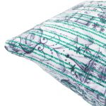 zoeppritz Believe in centuries Kissenbezug, Farbe gruen, Material Baumwolle in Groesse 60x60