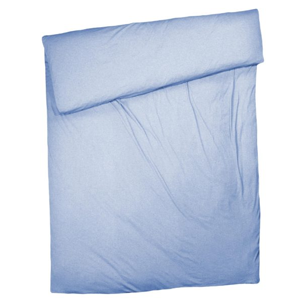 zoeppritz Chill out Bettbezug, Farbe hellblau, Material Baumwolle in Groesse 140x200